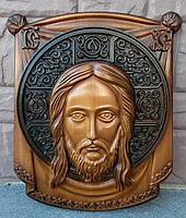Икона деревянная Спас Нерукотворный