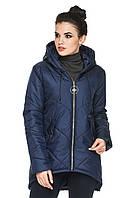 Стильная ассиметричная женская куртка