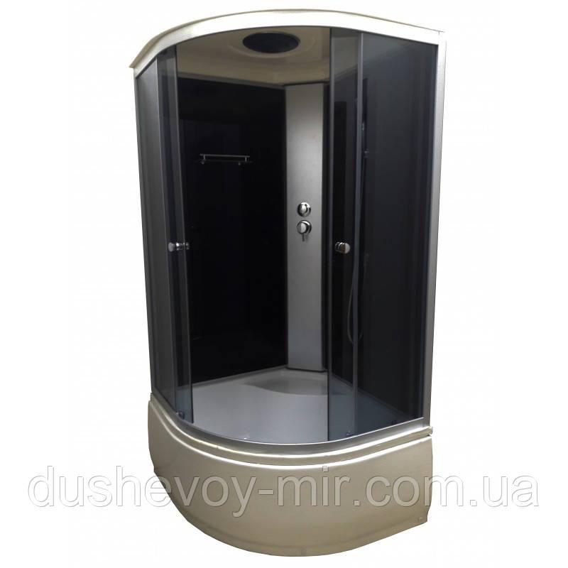Душевой бокс VIVIA 95 BF PR-Black 90х90х215