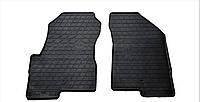 Коврики в салон резиновые передние для Jeep Patriot 2007- Stingray (2шт)