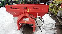 Розкидач мінеральних добрив 1000 кг Woprol., фото 1