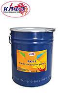 Краска для бетонных полов серая АК-11, ведро 15 кг