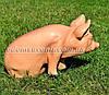 Садовая фигура Свинья сидячая и Кабанчик малый, фото 5