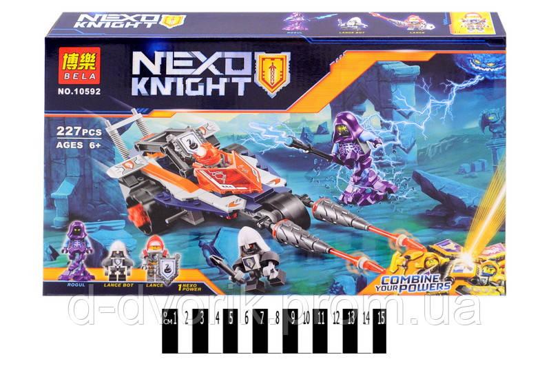 """Конструктор """"NEXO knights"""" 227дет. в кор. 33,3*21*5 см. /72/"""