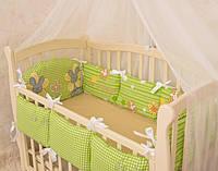Бортики защита на детскую кроватку