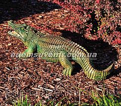 Садовая фигура Аллигатор и Аллигатор малый, фото 3