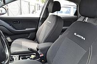 Чехлы на сиденья Шевроле Авео Т250 (Chevrolet Aveo T250) (универсальные, автоткань, с отдельным подголовником), фото 1