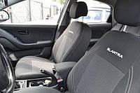 Чехлы на сиденья Хендай Акцент (Hyundai Accent) (универсальные, автоткань, с отдельным подголовником), фото 1