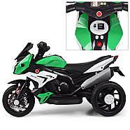 Мотоцикл детский M 3991E-5 зеленый Гарантия качества Быстрая доставка, фото 3