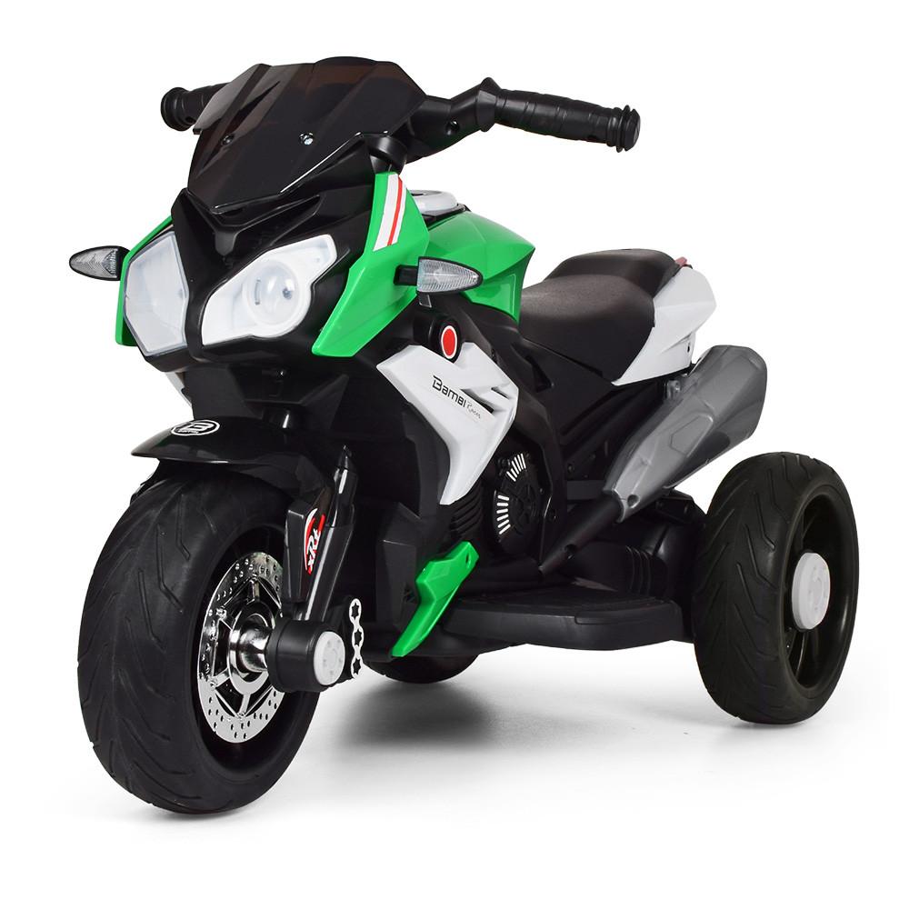 Мотоцикл детский M 3991E-5 зеленый Гарантия качества Быстрая доставка