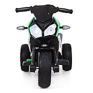 Мотоцикл детский M 3991E-5 зеленый Гарантия качества Быстрая доставка, фото 2