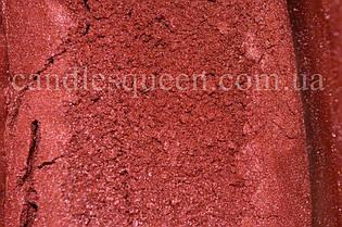 Перламутровый пигмент винно-красный 50 г