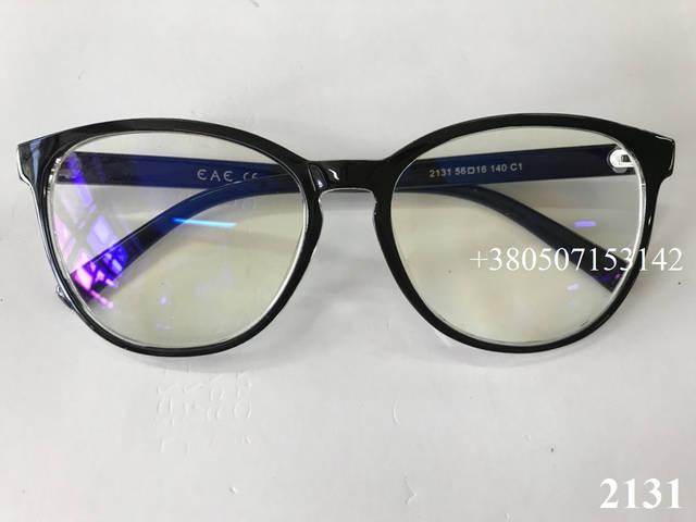 компьютерные очки, модель ЕАЕ 2131 черные глянцевые