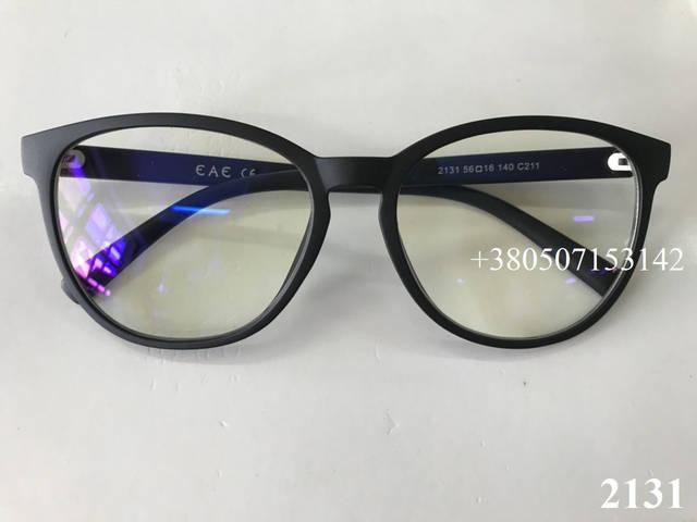компьютерные очки, модель ЕАЕ 2131 черные матовые