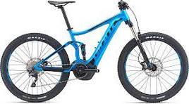 Велосипед Giant Stance E+ 2 25km/h зеленый M 2019