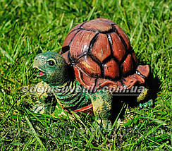 Садовая фигура Черепашонок средний, Черепаха гурман и Черепаха морская, фото 2