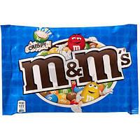 Драже M&M's з рисовими кульками в мол. шоколаді 36г синій (1/24)