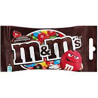 Драже M&M's шоколадний 45г коричневий (1/24)
