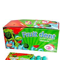 Жувальна гумка Fruit Dent Кавун блістер 24г*24шт*8