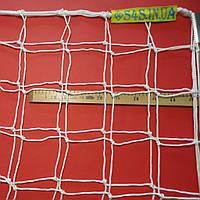 Сетка для футбола повышенной прочности «КАПРОН АНТИМОРОЗ 1,5» белая (комплект из 2 шт.), фото 1