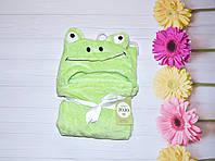 Детский Плед Велсофт Лягушка