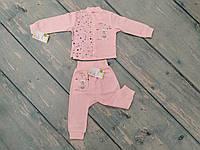 Комплект одежды ясельный для девочки (интерлок), ТМ Happy Tot