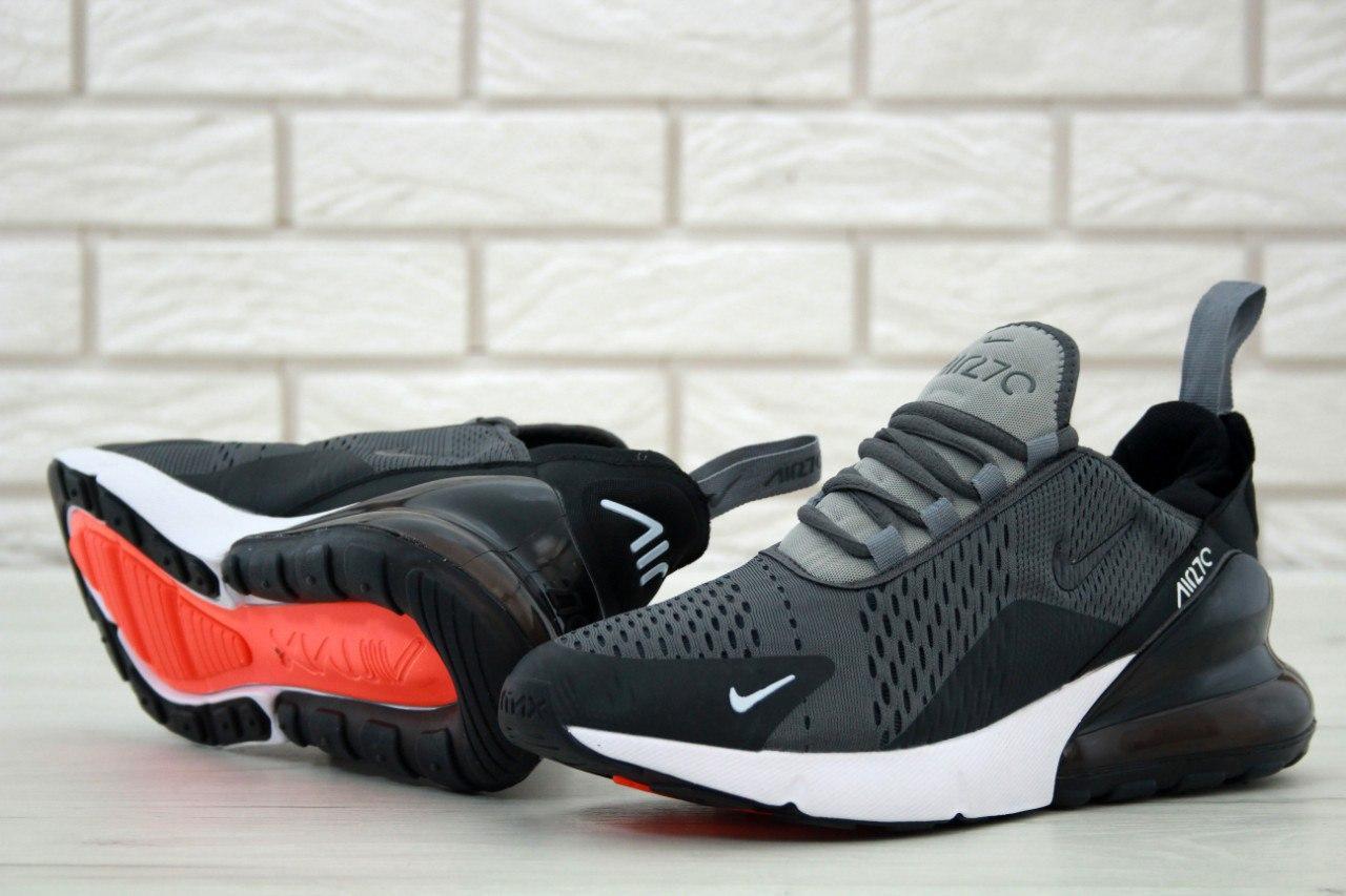 Кроссовки мужские в стиле Nike Air Max 270 (Реплика ААА+)
