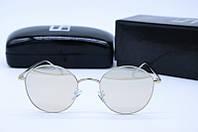 Солнцезащитные очки круглые LF2216 зеркальные