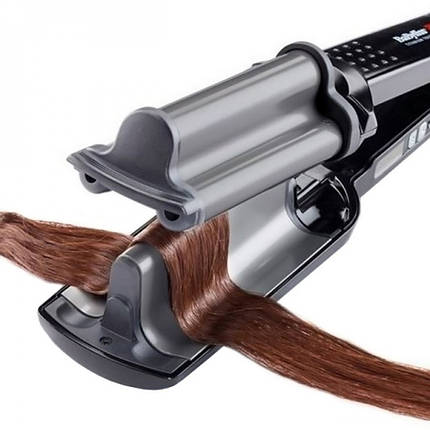 Тройная плойка для волос BaByliss PRO BAB2469 Hi-Def Waver(2469TTE), фото 2