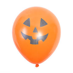 """Шар 12"""" (30 см) Хэллоуин Тыква оранжевая Артшоу"""