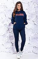 ЖІночий спортивний костюм з батником,новинка  .Р-ри 42-46, фото 1