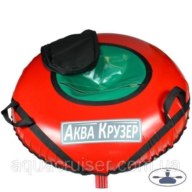 Тюбинг D=100 см - Надувные санки ватрушки Аква Крузер, цвет красный