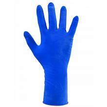 Перчатки латексные синие К50Щ50