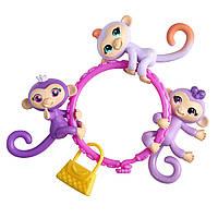 WowWee Fingerlings Minis-Series Сюрприз Браслет з міні мавпочками Fingerlings Minis Banana Blister.Оригінал.