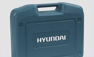 Аккумуляторный шуруповерт Hyundai A 1802  - ПЛАСТИКОВЫЙ КОФР Инструмент укомплектова...