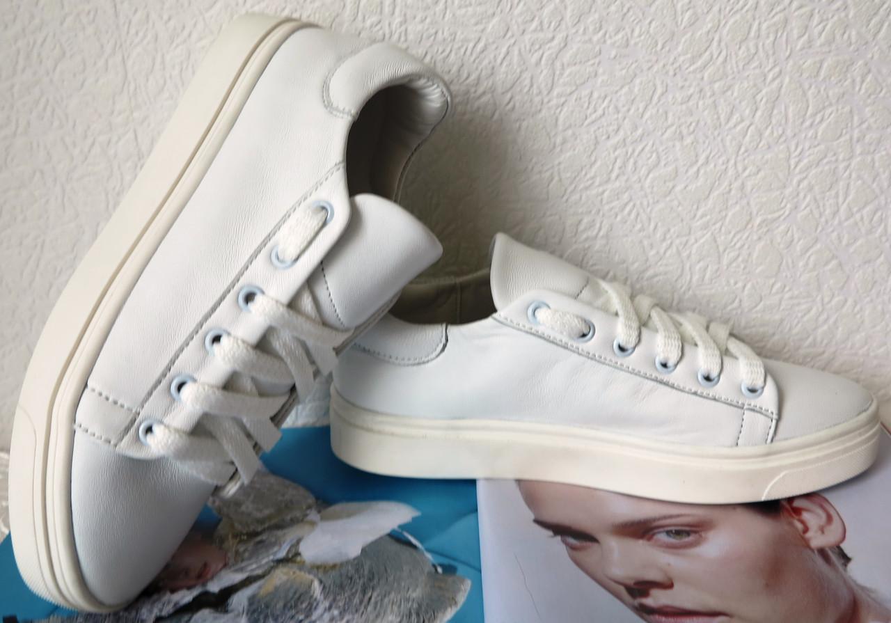 c5cdae15 Очень красивые Белые стильные кожаные кеды обувь весна лето для девочек и  женщин -