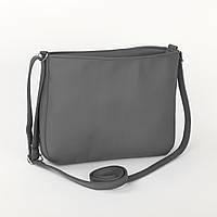 Маленькая женская сумка темно-серый флай_склад_z