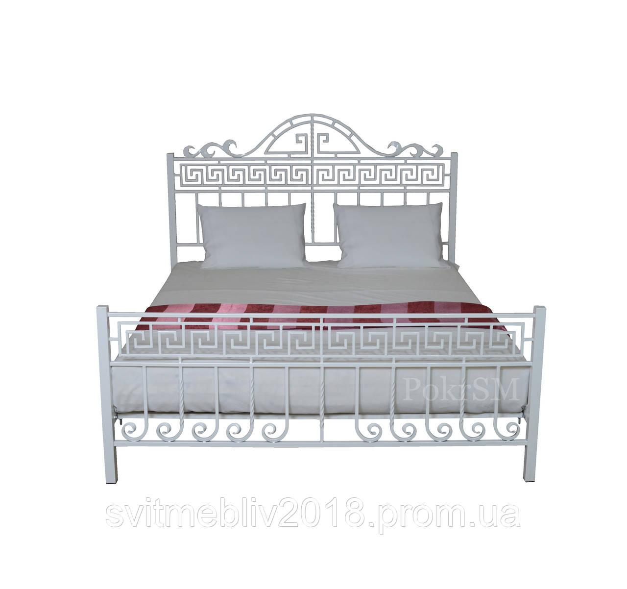 Кровать кованая двуспальная Анжелика 160*200