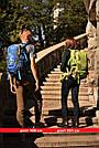 Рюкзак трекинговый, походный 40 л New Outlander 1217/ красный, фото 6