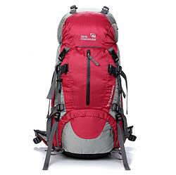 Рюкзак туристический, спортивный на 45-50 литров New Outlander  45+5L 1009 / красный