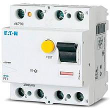 Пристрій захисного відключення Eaton PF4-63/4/003