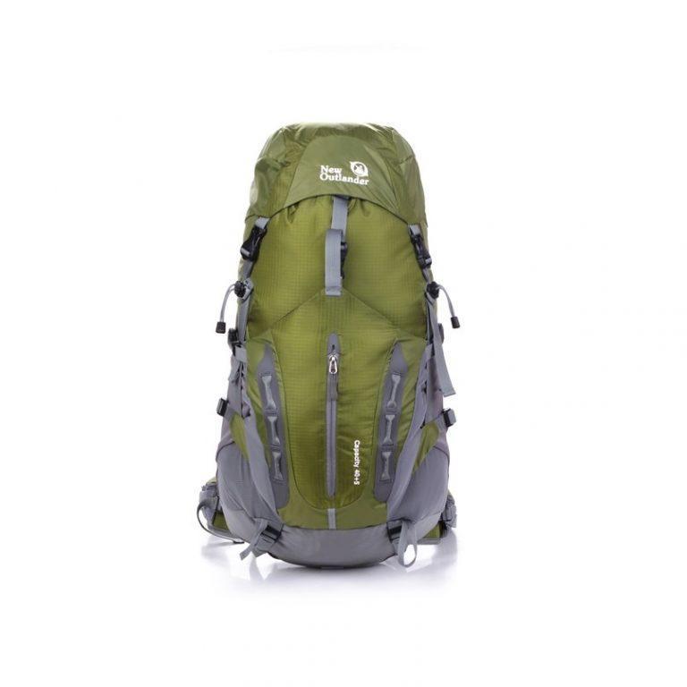 Рюкзак для путешествий 45-50 литров New Outlander зеленый