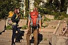 Рюкзак для путешествий 45-50 литров New Outlander зеленый, фото 8