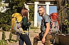 Рюкзак для путешествий 45-50 литров New Outlander зеленый, фото 10