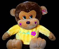Обезьяна 50 см в кофточке мягкая игрушка веселая обезьяна музыкальная детские игрушки