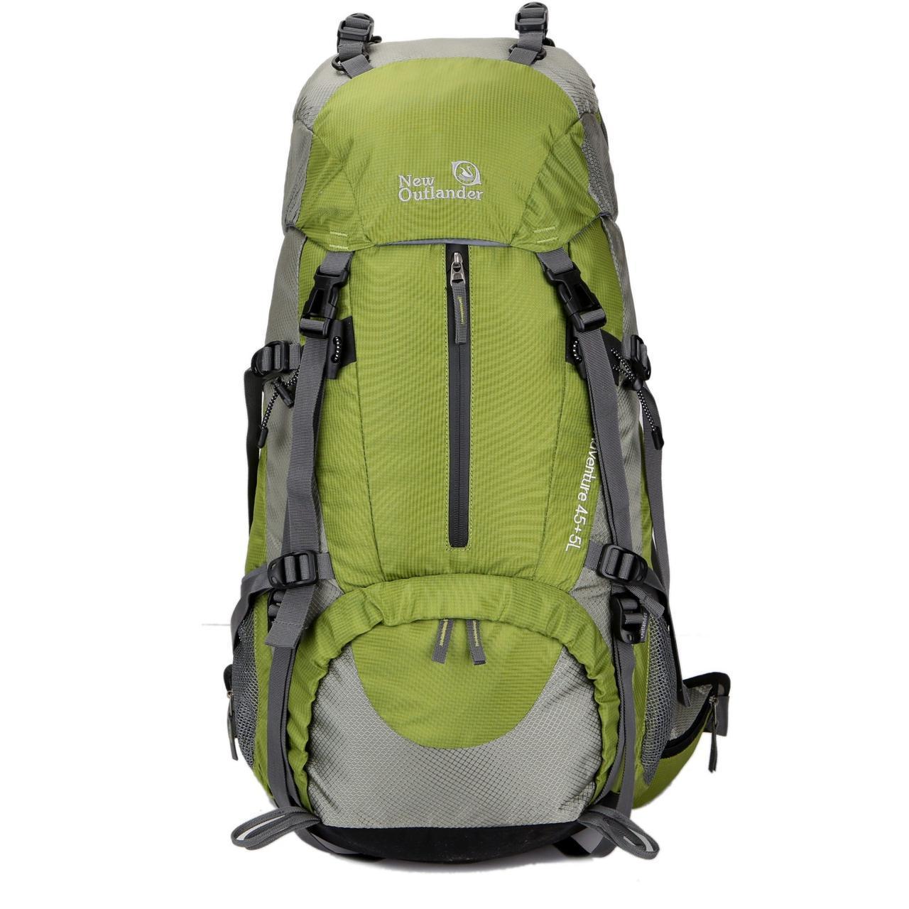 Рюкзак для туризма на 45-50 литров New Outlander зеленый (AV 1009)