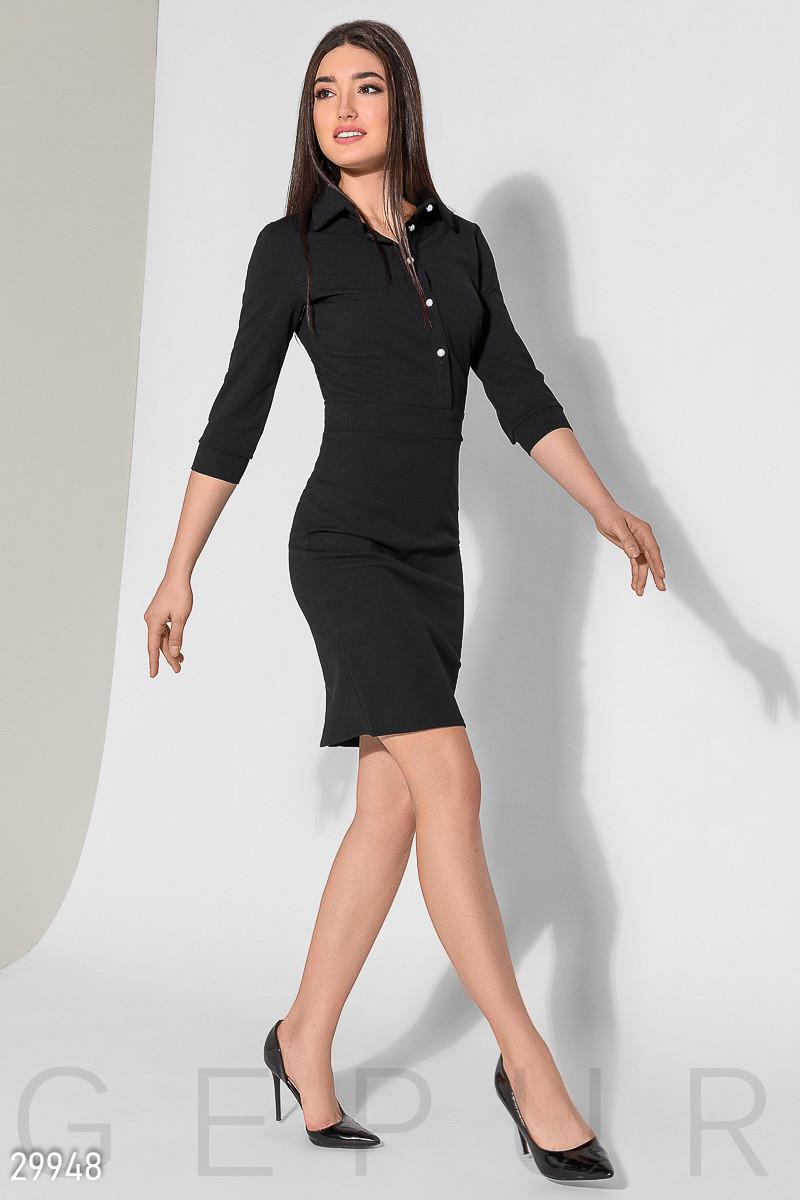 f7ff12d9da7 Повседневное Черное Облегающее Платье — в Категории