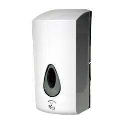 Автоматичний дозатор для рідкого мила та засобів дезинфекцї Sanela SLDN 08E, 1 л, білий пластик АБС