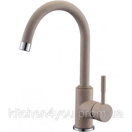 Кухонный смеситель Colorado № 94 светло-бежевый Blue Water (Польша)