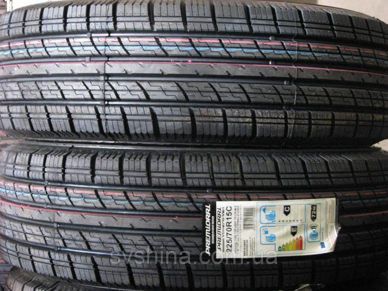 Шины 225/70R15C Premiorri Vimero-VAN, 112/110 R всесезонные